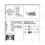 CIVIC PiSTON SEKMANLI 96-00 1.6 STD