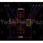 STAREX MAFSAL ISTAVROZU  K2500  28mm X 82mm DISTAN SEKMAN