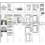 BONGO GoMLEK K-2500  STAREX 02=  KMY 05-12  PREGIO 05= D4BH TCI STD