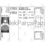 E-2200 PiSTON SEKMANLI 86-92  BESTA 92= 050